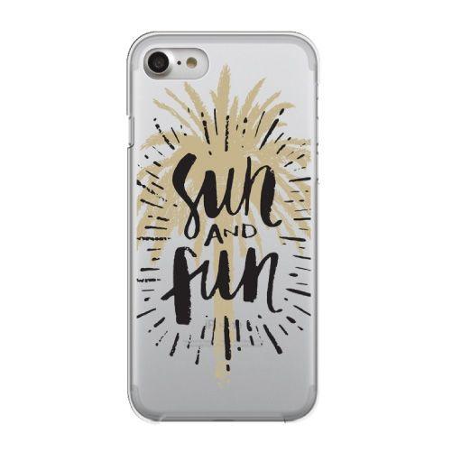 【iPhone8/7ケース】クリアケース sun and fun iPhone 8/7_0