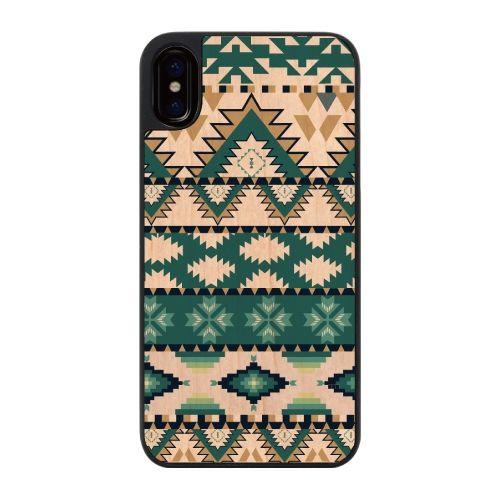 【iPhone Xケース】ウッディフォトケース native pattern  iPhone X_0