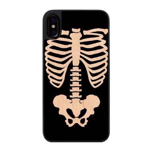 iPhone X ケース ウッディフォトケース Bones  iPhone X_0