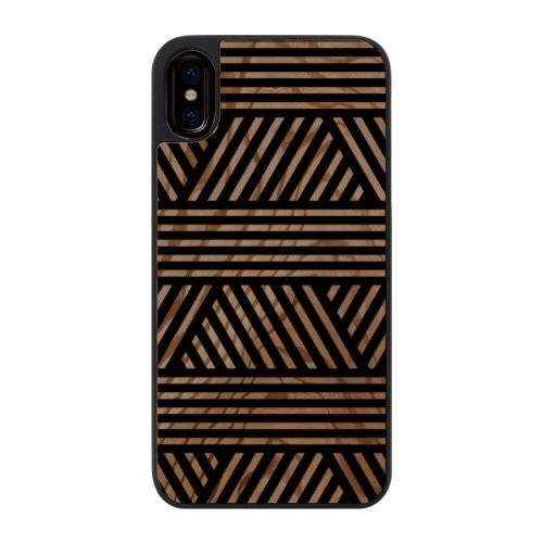 iPhone X ケース ウッドカービングケース Geometric mood2 iPhone X_0