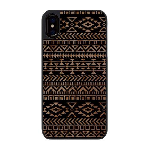 iPhone X ケース ウッドカービングケース Native American iPhone X_0