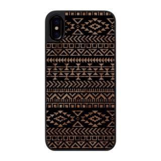 ウッドカービングケース Native American iPhone X