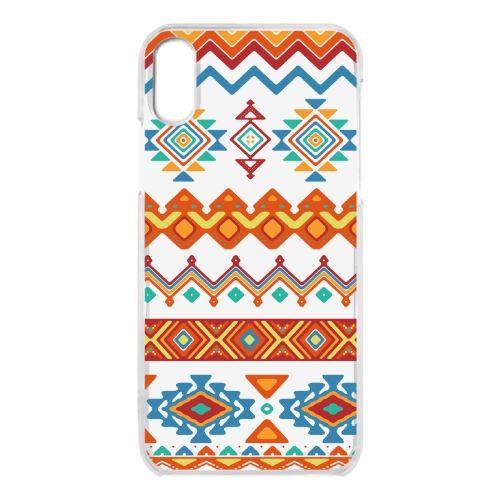 iPhone X ケース クリアケース Ethnic pattern iPhone X_0