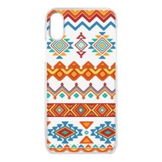 クリアケース Ethnic pattern iPhone X