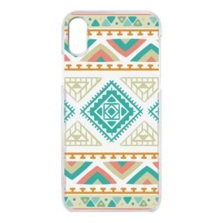 クリアケース Indian pattern iPhone X