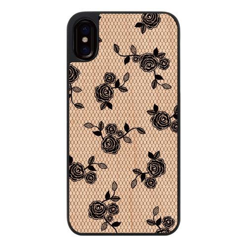 iPhone X ケース ウッディフォトケース lace flower iPhone X_0