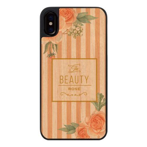 iPhone X ケース ウッディフォトケース the beauty rose iPhone X_0
