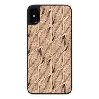 【iPhone Xケース】ウッディフォトケース Nordic Reef iPhone X