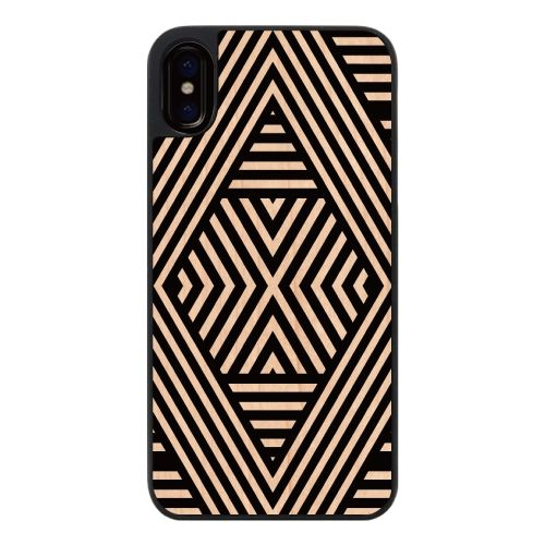 iPhone X ケース ウッディフォトケース Geometric mood1 iPhone X_0