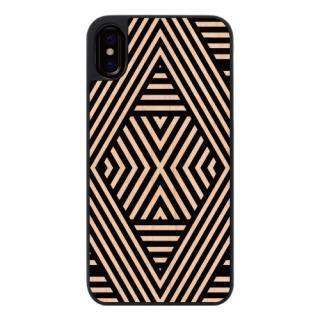 【iPhone Xケース】ウッディフォトケース Geometric mood1 iPhone X