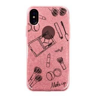 グリッターケース Make up iPhone X