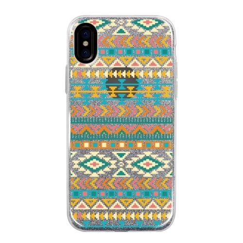 iPhone X ケース グリッターケース Native American iPhone X_0