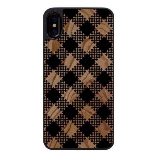 iPhone X ケース ウッドカービングケース tantan iPhone X_0