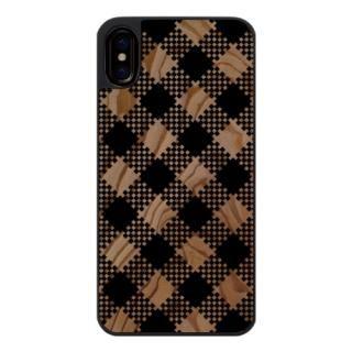 iPhone X ケース ウッドカービングケース tantan iPhone X