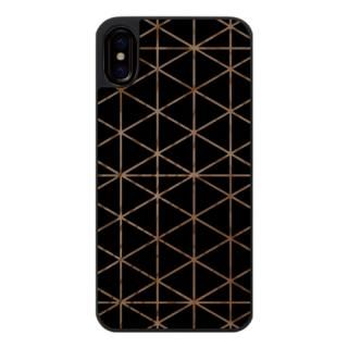 【iPhone Xケース】ウッドカービングケース Top triangle iPhone X