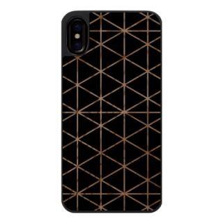 iPhone X ケース ウッドカービングケース Top triangle iPhone X