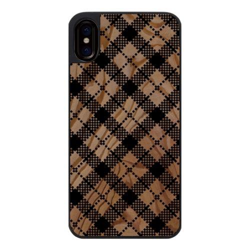 iPhone X ケース ウッドカービングケース tantan2 iPhone X_0