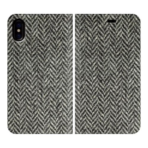iPhone X ケース 手帳型ケース Herringbone iPhone X_0