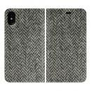 手帳型ケース Herringbone iPhone X
