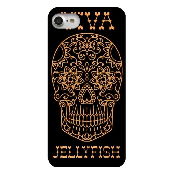 ウッドカービングケース VIVA Skull iPhone 7
