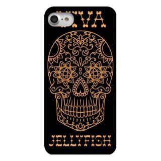 iPhone7 ケース ウッドカービングケース VIVA Skull iPhone 7