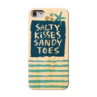 [2018新生活応援特価]ウッディフォトケース salty kisses sandy toes iPhone 8/7