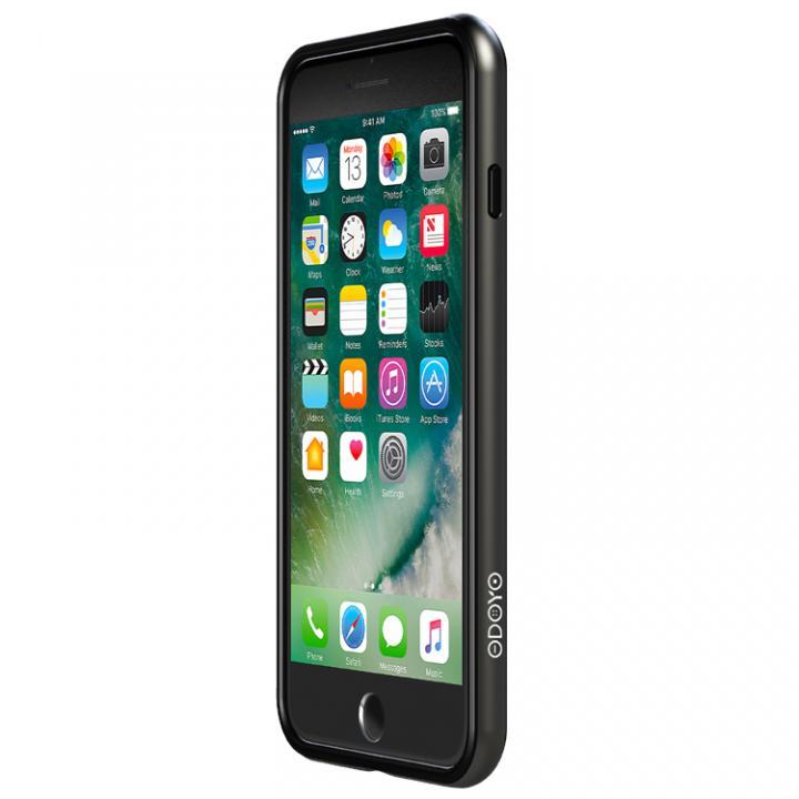 iPhone7 ケース 工具不要 かんたん着脱バンパー Blade Edge ブラック iPhone 7_0