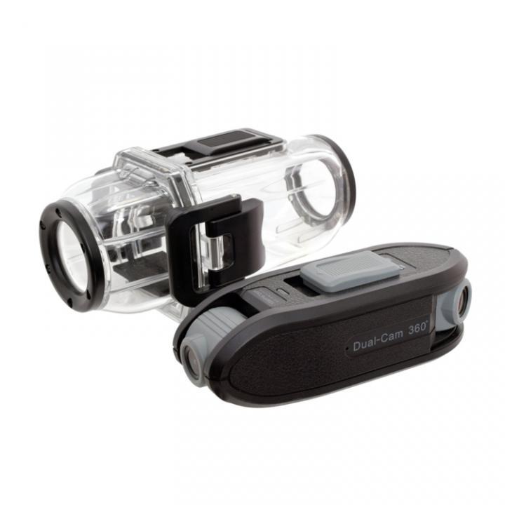 防水ケース付きデュアルアクションカメラ_0