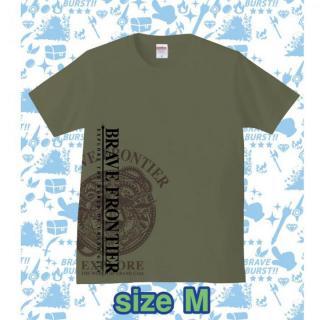 ブレイブフロンティア オリジナルTシャツ(セメント×ブラウン)Mサイズ