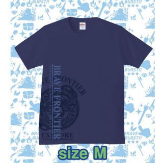 ブレイブフロンティア オリジナルTシャツ(インディゴ×パープル)Mサイズ
