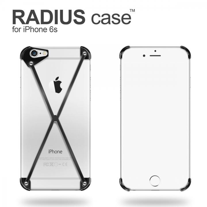 iPhone6s ケース RADIUS アルミケース ブラック iPhone 6s_0