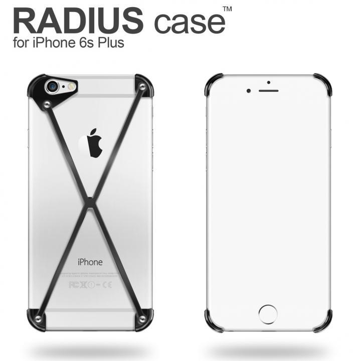 iPhone6s Plus ケース RADIUS アルミケース ブラック iPhone 6s Plus_0