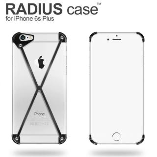 iPhone6s Plus ケース RADIUS アルミケース ブラック iPhone 6s Plus