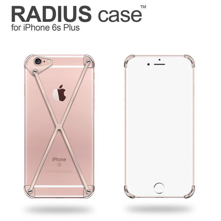 iPhone6s Plus ケース RADIUS アルミケース ローズゴールド iPhone 6s Plus_0