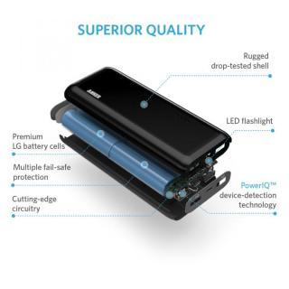 [13000mAh]Anker Astro E4 第2世代 PowerIQ搭載モバイルバッテリー 5V/2Aアダプタ付属_4