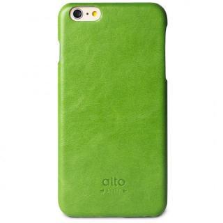 本革製ケース alto Original グリーン iPhone 6s Plus/6 Plus