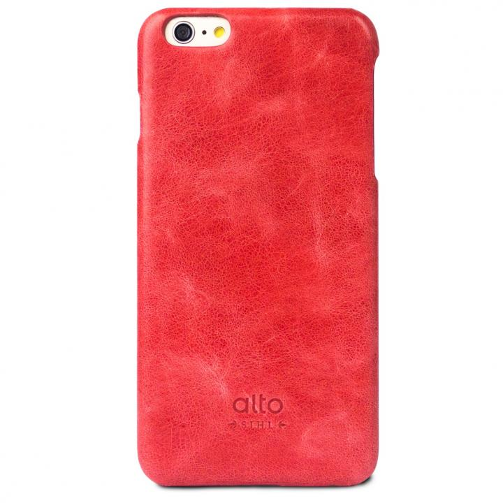 【iPhone6s Plus/6 Plusケース】本革製ケース alto Original レッド iPhone 6s Plus/6 Plus_0