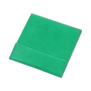 薄い財布 abrAsus グリーン