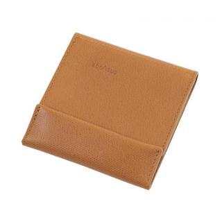 薄い財布 abrAsus キャメル
