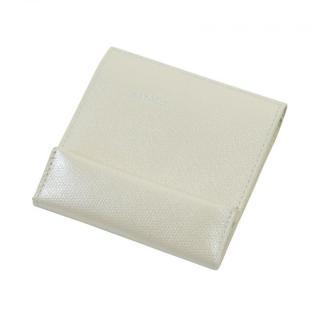 薄い財布 abrAsus アイボリーパール