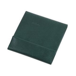 薄い財布 abrAsus ダークグリーン