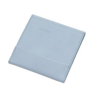 薄い財布 abrAsus ライトグレー