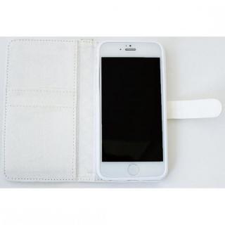 【iPhone6ケース】Afreak 手帳型ケース エナメルキルト(ホワイト) iPhone 6ケース_3