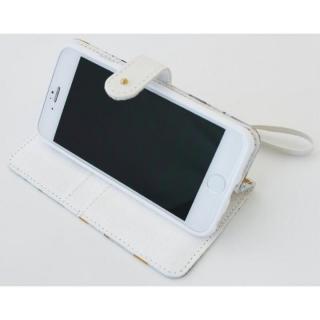 【iPhone6ケース】Afreak 手帳型ケース フラワー iPhone 6ケース_4