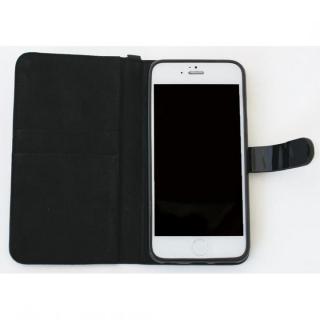 【iPhone6ケース】Afreak 手帳型ケース エナメルキルト(ブラック) iPhone 6ケース_3