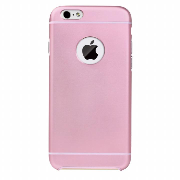 【iPhone6ケース】電波妨害が少ないアルミケース ibacks Essence ピンク iPhone 6ケース_0