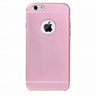 電波妨害が少ないアルミケース ibacks Essence ピンク iPhone 6ケース