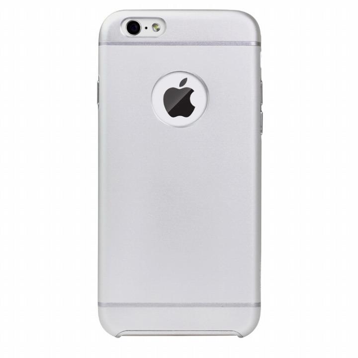 電波妨害が少ないアルミケース ibacks Essence シルバー iPhone 6ケース