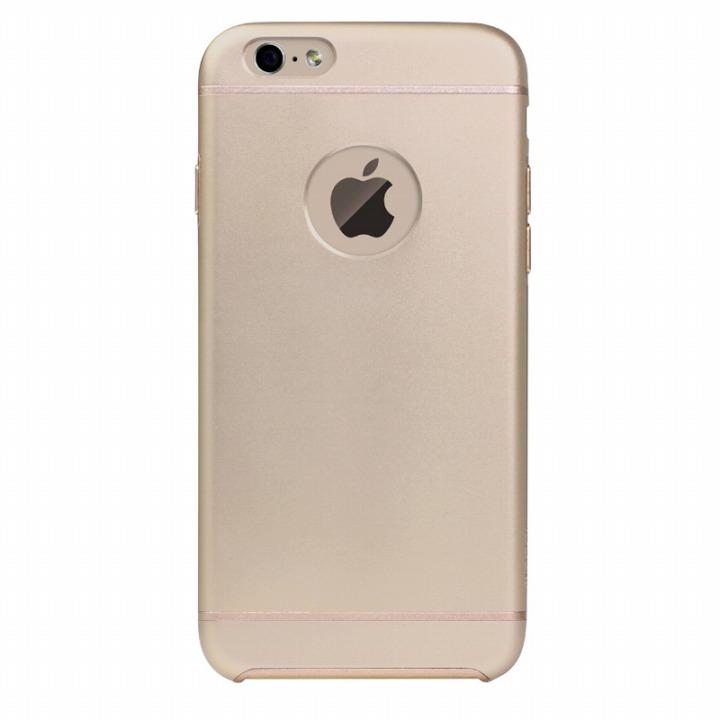 【iPhone6ケース】電波妨害が少ないアルミケース ibacks Essence ゴールド iPhone 6ケース_0