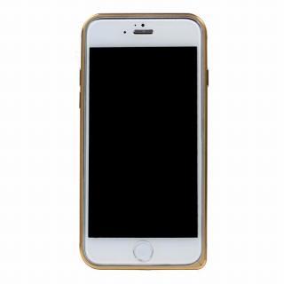 工具不要の超軽量7gアルミバンパー ibacks Essence ゴールド(ゴールドエッジ) iPhone 6バンパー